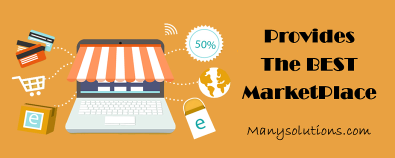Why ManySolutions.com is better ecommerce marketplace then other competitors